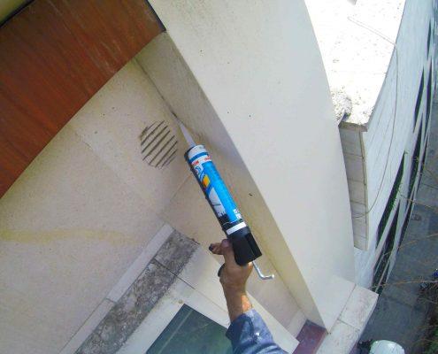 اب بندی نمای ساختمان در کرج