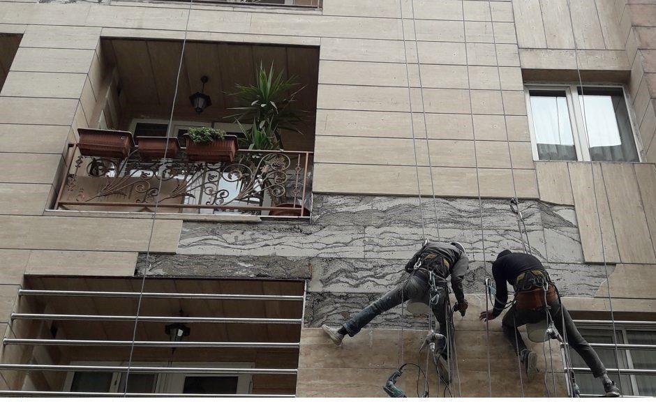 تعمیرات نما ساختمان