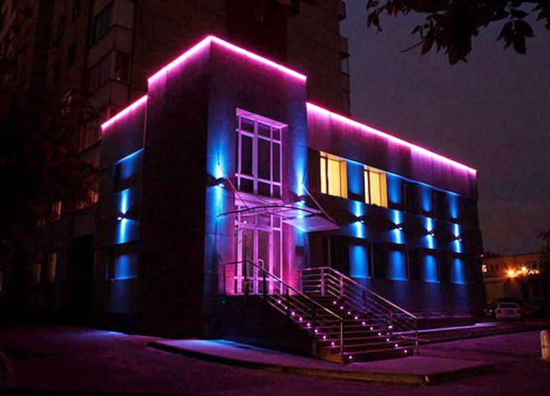 نورپردازی نما تعویض لامپ نما