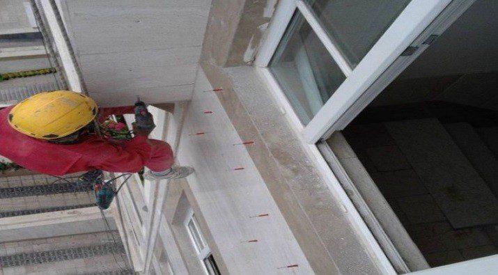 پیچ رولپلاک سنگ ساختمان